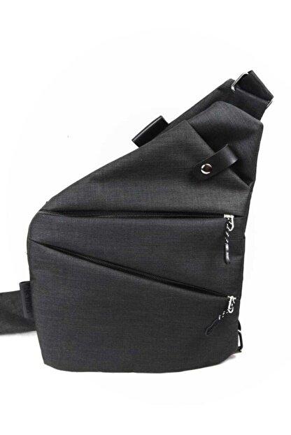Newish Unisex Siyah Çapraz Celart Tablet Çanta