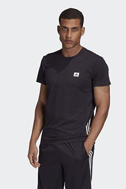 adidas M D2m Motion Te Erkek Siyah Antrenman Tişört Gd5283