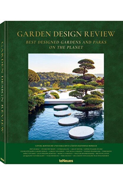 TENEUES Garden Design Review: Best Designed Gardens And Parks On The Planet Hardcover - Kitap