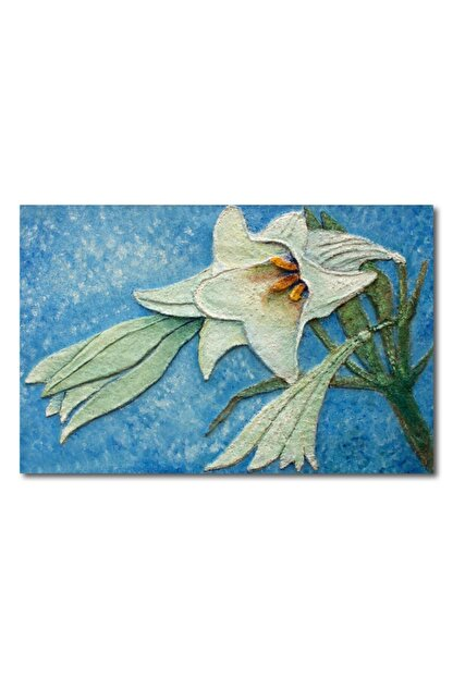 Makeart Home Amazing Big Lily Kanvas Tablo -