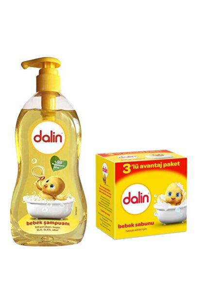 Dalin 900ml Bebe Şampuanı + 100gr 3'lü Bebe Sabunu