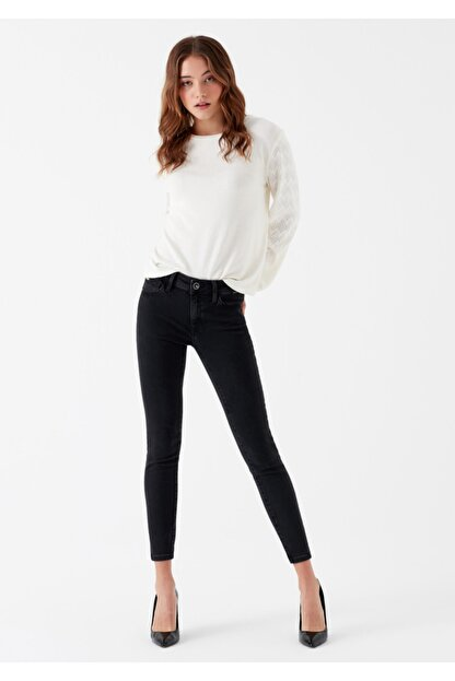 Mavi Kadın Adriana Ankle Gold Lux Move Jean Pantolon 1072928069