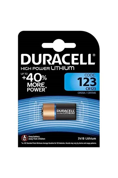 REWEL Duracell Cr123 Ultra Lityum Pil Tek Fiyat 661054