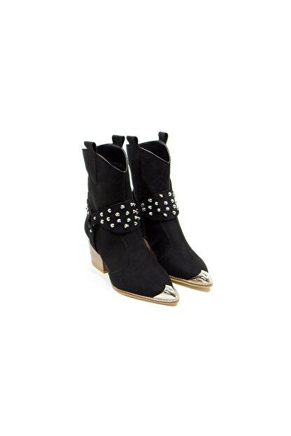 Milioon Kadın Siyah Ayakkabı 11tt