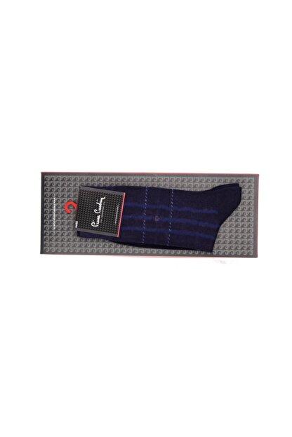 Pierre Cardin Erkek Lacivert Çizgili Çorap 6'lı
