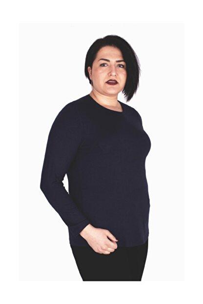 Günay Giyim Kadın Lacivert Bluz