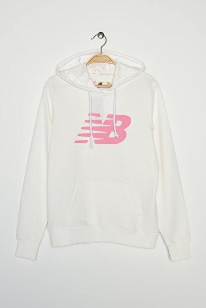 New Balance Kadın Spor Sweatshirt - V-WTH804-WT