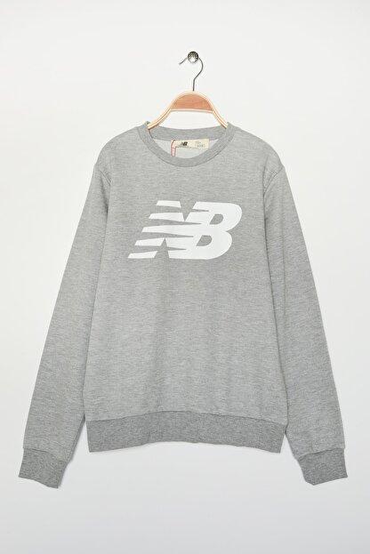 New Balance Erkek Spor Sweatshirt - MTT0301-AG
