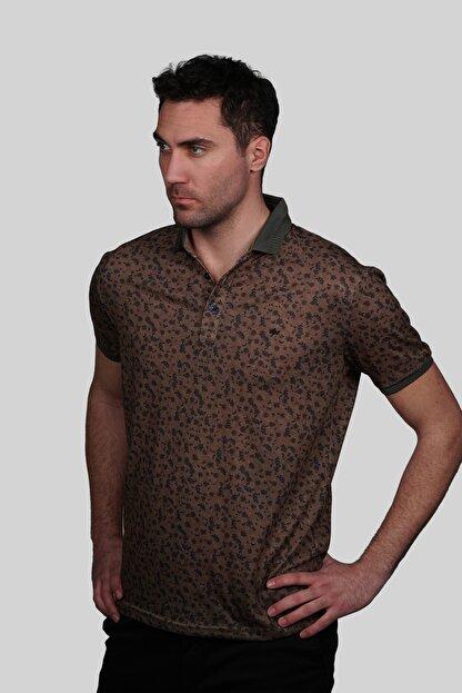 İgs Erkek Kahve Modern Fit Tişört