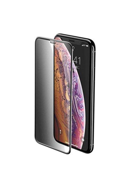 GALIO Iphone Xs Max Hayalet Cam Tam Kaplayan Kırılmaz Nano Teknoloji