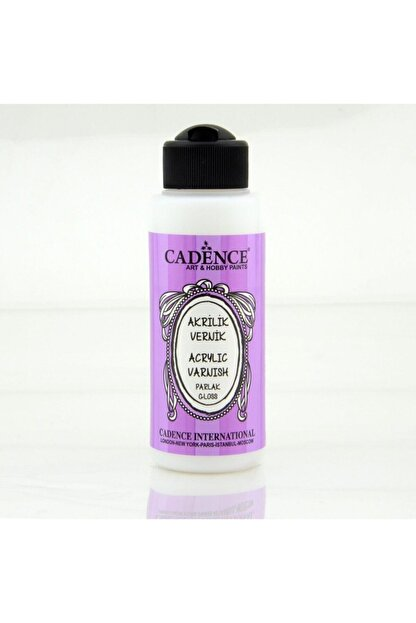 Cadence Boya Su Bazlı Parlak Vernik 120 ml