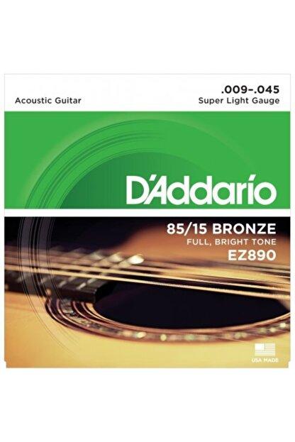 D'Addario D'addario Ez890 Takım Tel - Akustik Gitar Teli 009-045