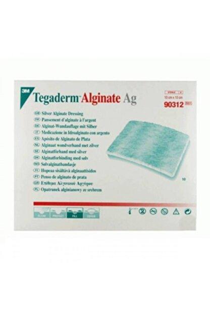 3M Tegaderm 90312 Alginate Ag Gümüşlü Yara Örtüsü 10cm X 10cm Antimikrobiyel (5 Adet)