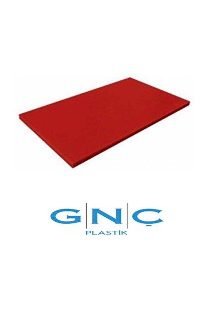 GNC PLASTİK Kesme Tahtası 30*50*2 Kırmızı Polietilen