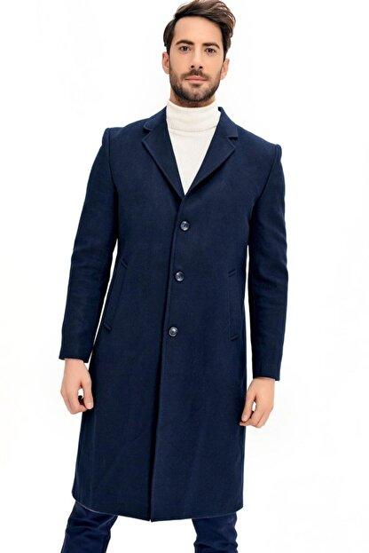 Dewberry Erkek Lacivert Palto