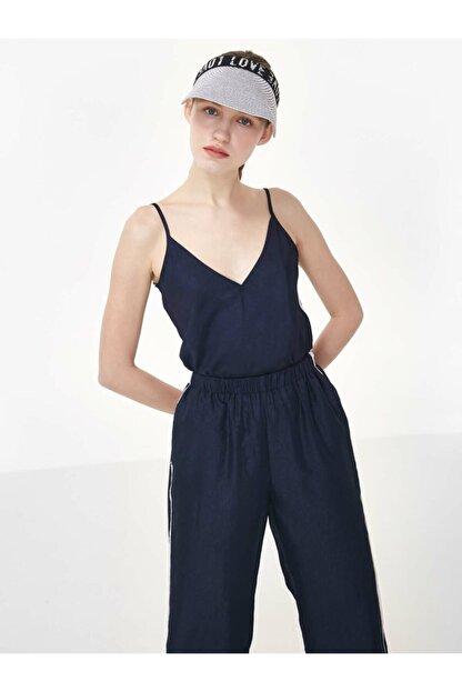 Twist Kadın Mavi İp Askılı Bluz TS1200006240015