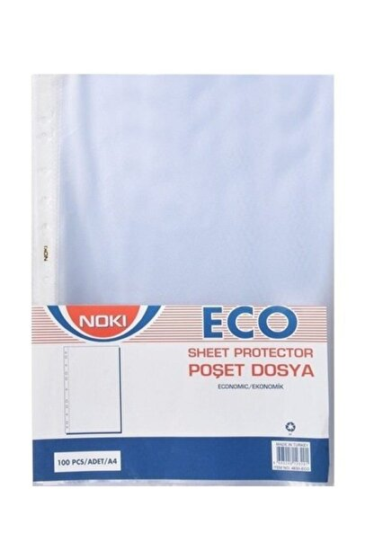 Noki Eco Poşet Dosya 100 'lü