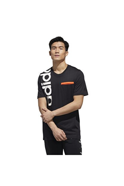 adidas Erkek Siyah New Authentic  T-Shirt