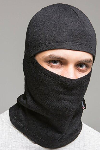 Thermoform Unisex Siyah Kar Maskesi Hzt1014