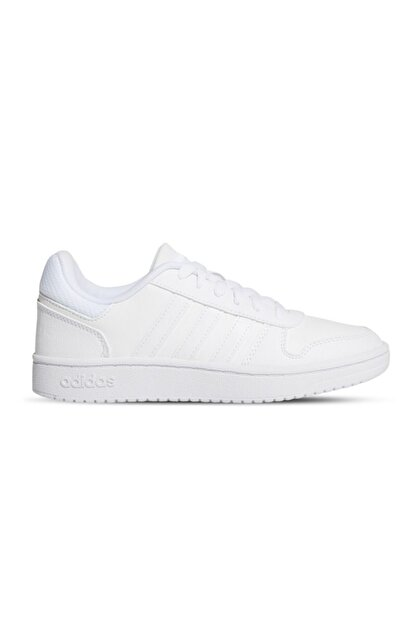 adidas Kadın Beyaz Basketbol Ayakkabısı Hoops 2.0 K