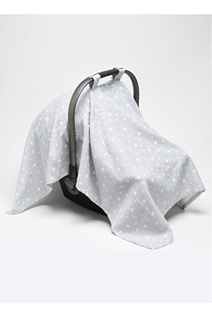 Minikom Baby Müslin Puset Oto Koltuğu Yıldızlar Ana Kucağı Örtüsü