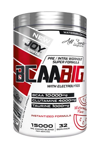 Big Joy Sports Bcaabig 589 Gr 32 Servis Karpuz Aromalı Bcaa Powder