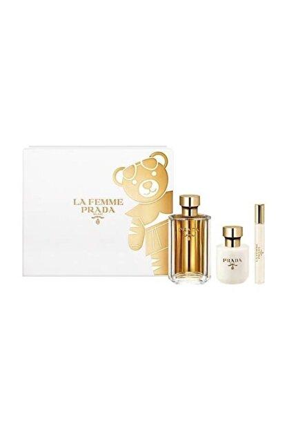 Prada La Femme Edp 100 ml Kadın Parfüm Seti 8435137801848