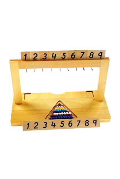 BALATOYZ Montessori Askı Boncuk