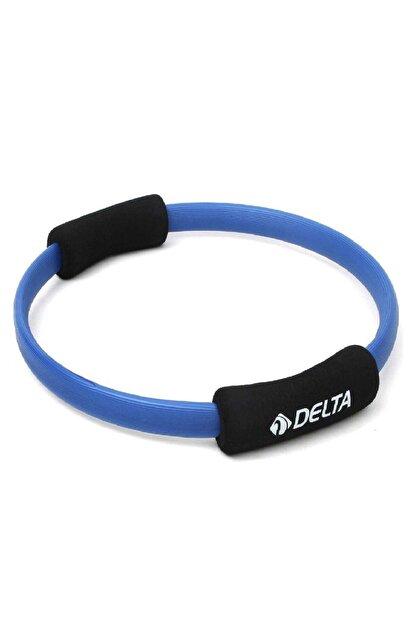 Delta Dura-Strong 35 Cm Mavi Pilates Çemberi (Egzersiz Çemberi)