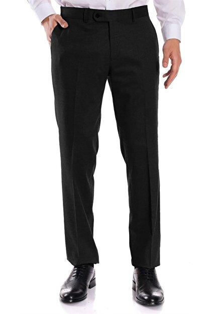 İgs Erkek Siyah Regular Fit Pantolon