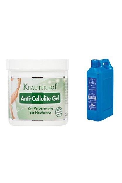 Krauterhof Anti-cellulite Selülit Jeli 250 ml + Selin Limon Kolonyası 900 ml