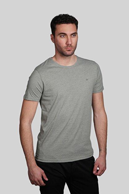 İgs Erkek Yeşil Slim Fit Tişört
