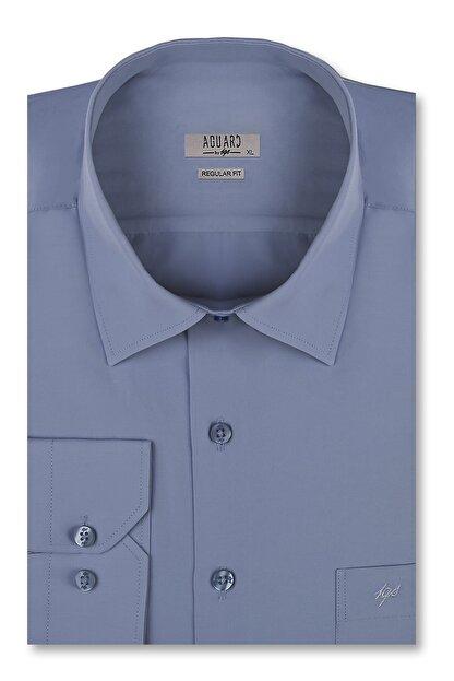 İgs Erkek Koyu Mavi Slim Fit Gömlek