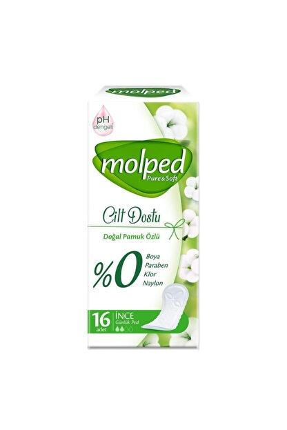 Molped Günlük Ped Pure Soft Cilt Dostu 16 Lı