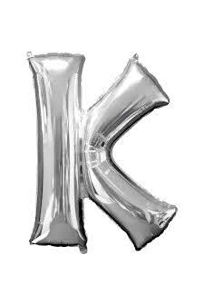 """Deniz Yıldızı Sanat 16"""" Inç 40 Cm Folyo Harf Balon Gümüş K"""