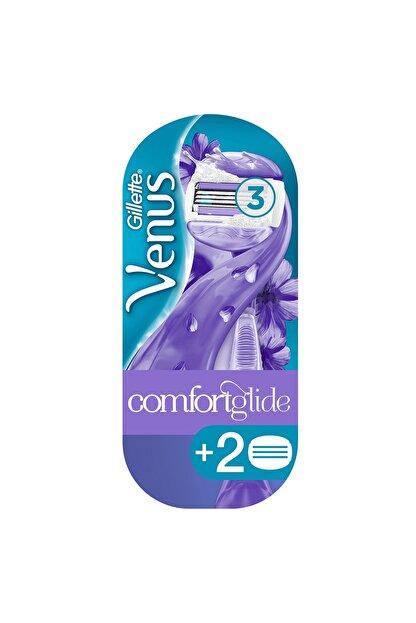 Gillette Venüs Comfort Glide Breeze Tıraş Makinesi + 2 Yedek Başlık