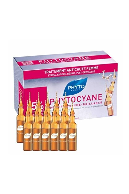 Phyto Cyane Ampul 12 X 7,5 ml  3338221000033