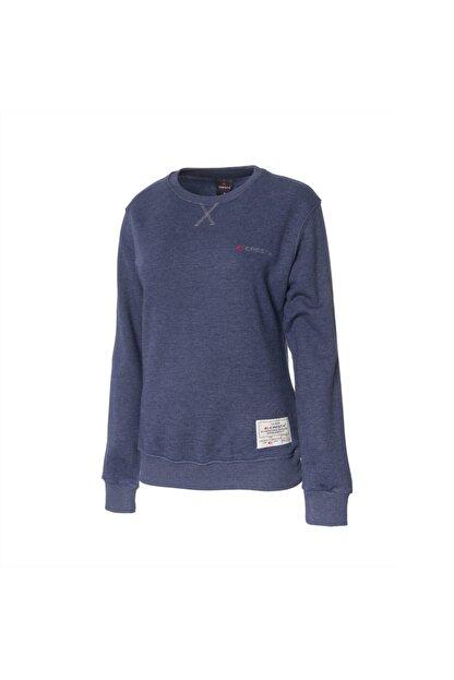 Cresta Kadın Lacivert Outdoor Basic Sweatshirt