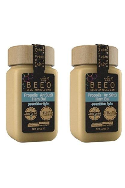 Beeo Propolis Arı Sütü Ham Bal 190 g 2 Adet
