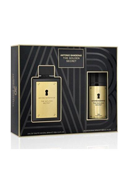 Antonio Banderas The Golden Secret Edt 100 ml Erkek Parfüm + Deodorant 8411061920305