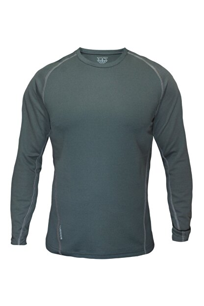 Sivugin Erkek Haki Outdoor Uzun Kollu Tactical Tişört