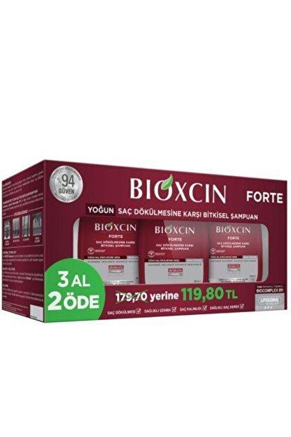 Bioxcin 3 Adet Serum Hediyeli Forte Şampuan 300 Ml - 3 Al 2 Öde
