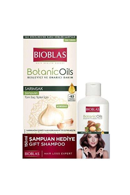 Bioblas Botanic Oils Sarımsaklı Şampuan 360 Ml + 150ml