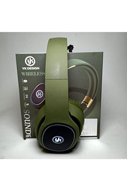 YK Design Yk Desıgn Wireless Led Işıklı Bluetooth Kulaklık Extra Bass