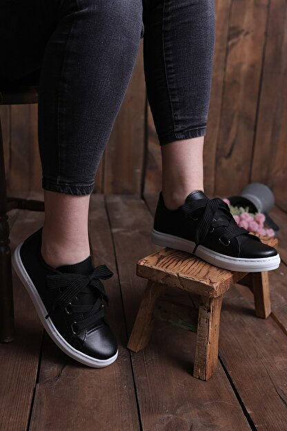 pasyone Kadın Siyah Casual Ayakkabı