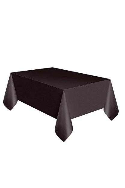 Organizasyon Pazarı Siyah Renkli 120x180 Cm Tek Kullanımlık Masa Örtüsü