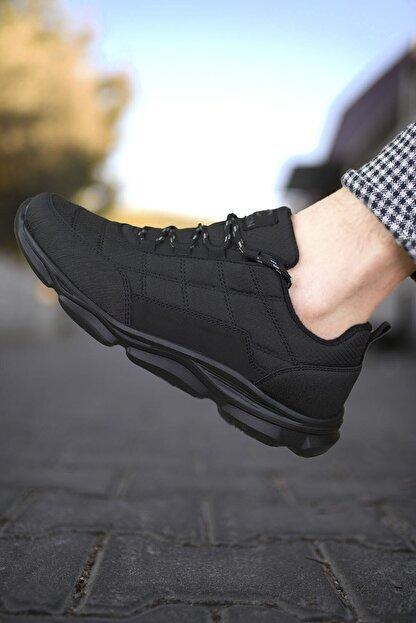 Riccon Siyah Siyah Erkek Sneaker 00121310