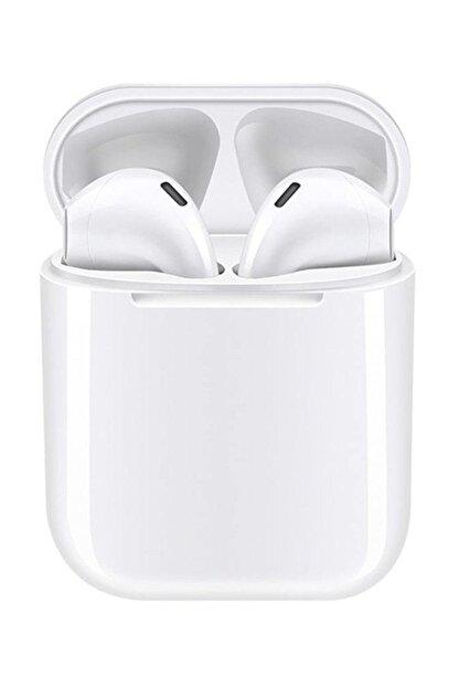 Tws Airpods I12 Beyaz Iphone Android Universal Bluetooth Kulaklık Hd Ses Kalitesi