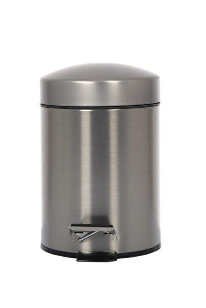 Cekinox Inox Pedallı Çöp Kovası Paslanmaz 5 Litre