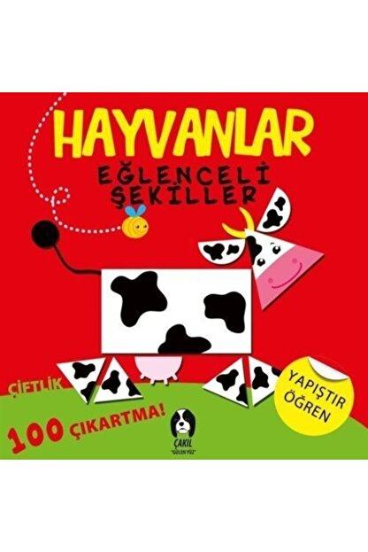 Çakıl Yayınları Hayvanlar Eğlenceli Şekiller Çiftlik
